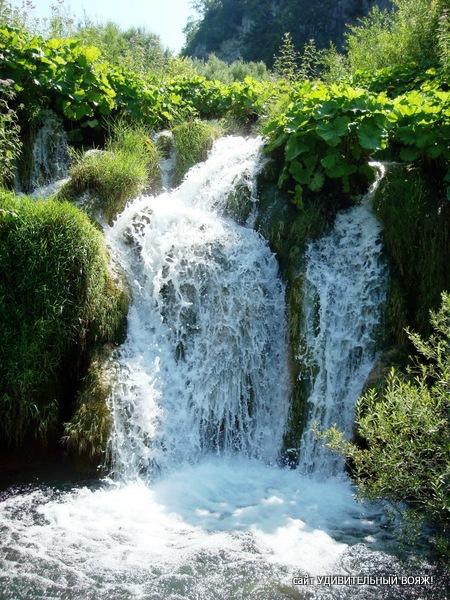 водопады парка Плитвицкие озера