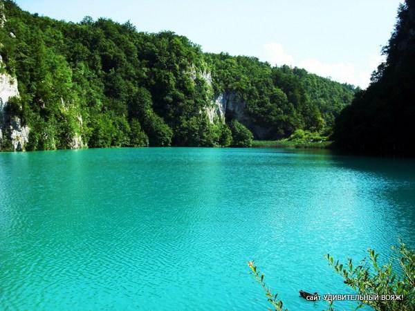 фото Плитвицкие озера