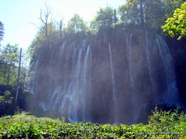 Экскурсия в национальный парк Плитвицкие озера