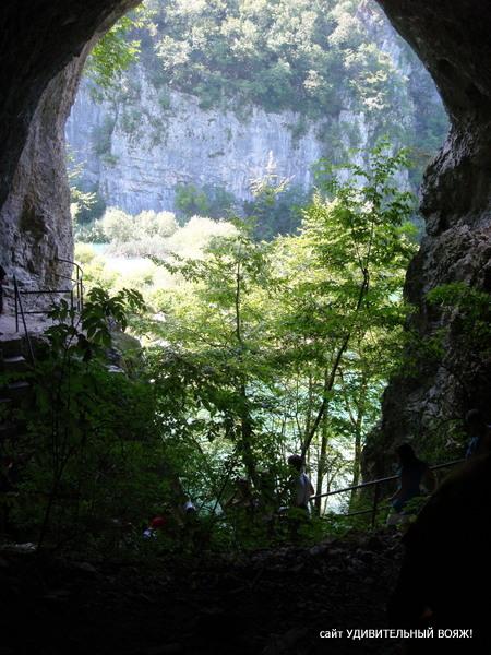 гроты и пещеры в национальном парке Плитвицкие озера
