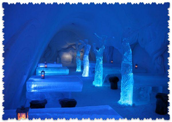 Снежный замок Финляндии