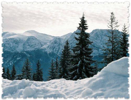 зимний Закопане