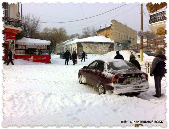 Poberezh'e Kryma zimoj