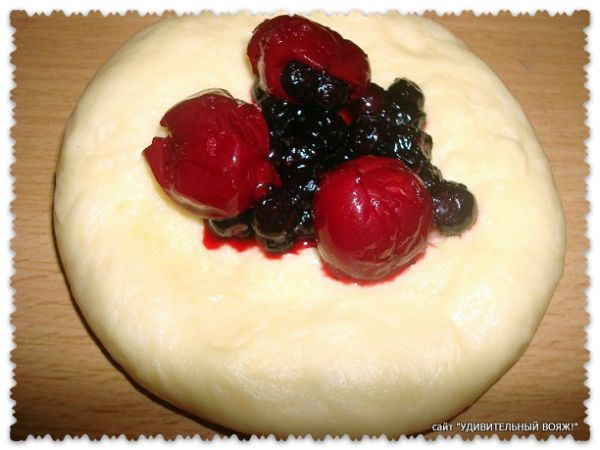 Рецепт булочек из дрожжевого теста
