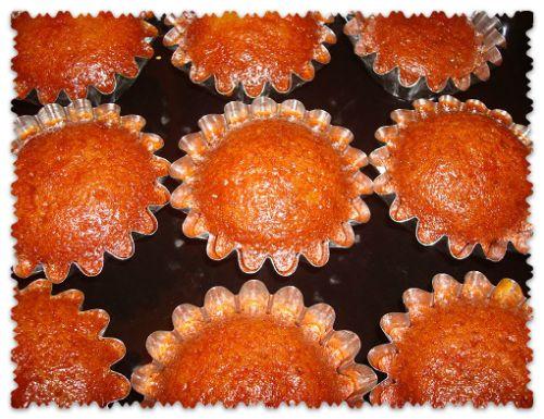 Легкие кексы с медом