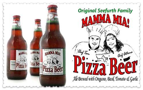 пиво со вкусом пиццы