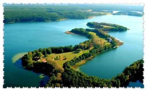 Мазурские озера Польши