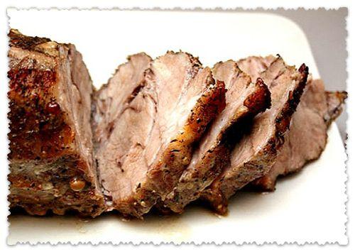 запечь мясо в дорогу