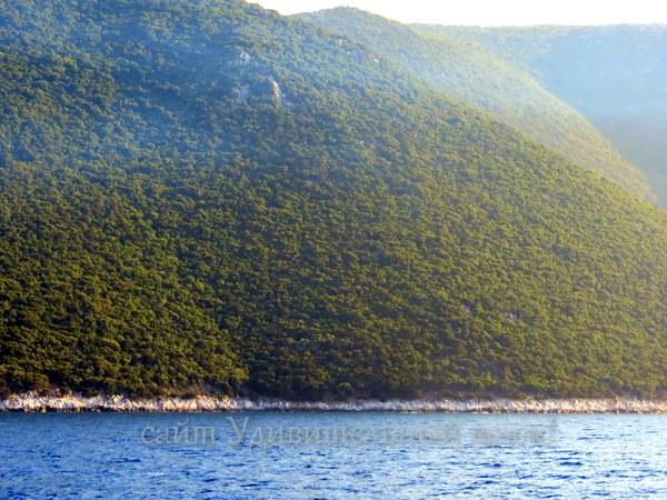 берега Греции