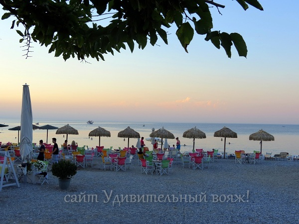 побережье Греции, Платамонас
