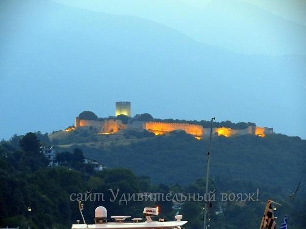Византийская крепость в Платамонасе