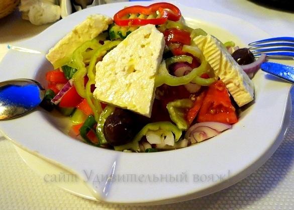 Хориатики салата – греческий салат