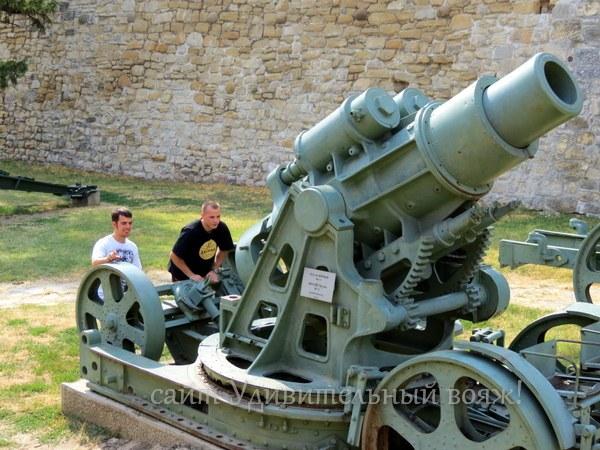 военный музей техники в крепости Калемегдан
