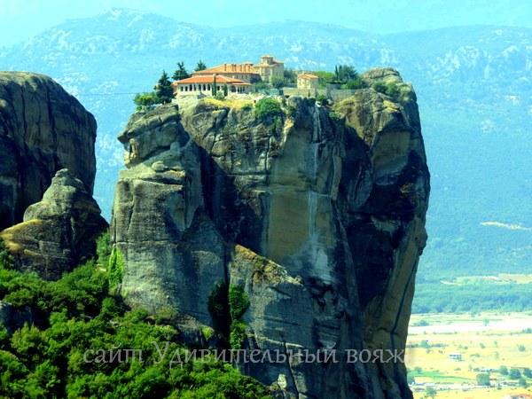 монастырь Святой Троицы, Метеоры