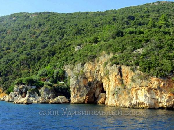 скалы Эгейского моря