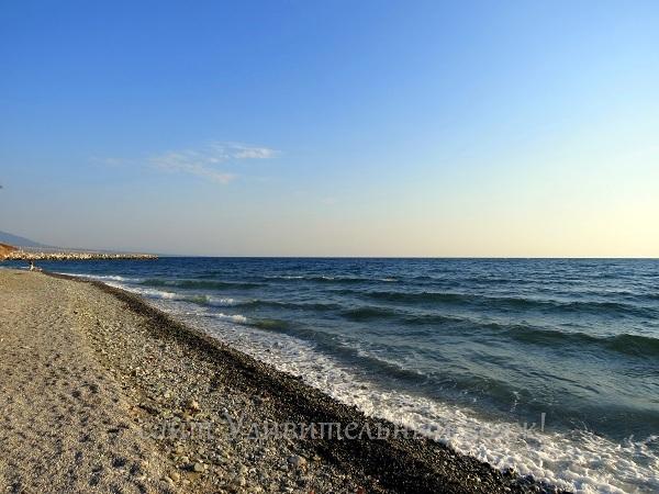 пляж на Эгейском море