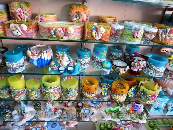 сувениры в Платамонасе