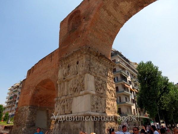 Триумфальная арка Галерия в Салониках
