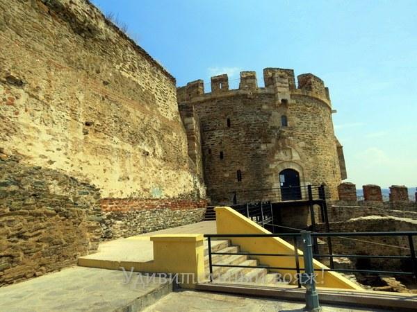византийские Крепостные стены в Салониках