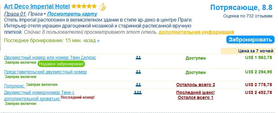 бронирование отелей на сайте booking.com