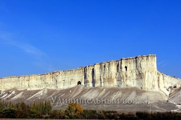 Горы Крыма. Белая скала