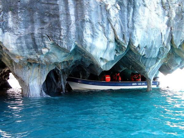 экскурсия в мраморную пещеру
