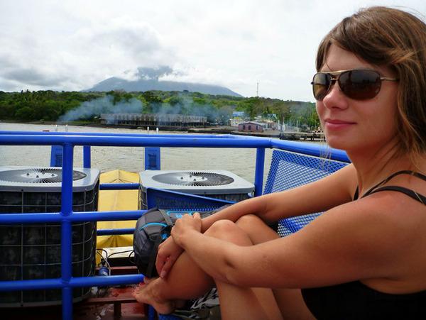 Никарагуа, паром на остров Ометепе