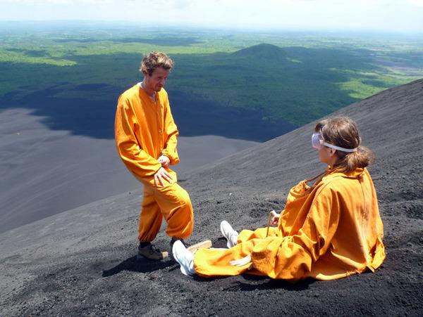 Никарагуа, вулканобординг