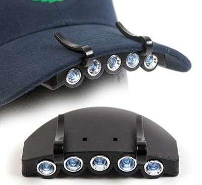 кепка на светодиодных фонариках