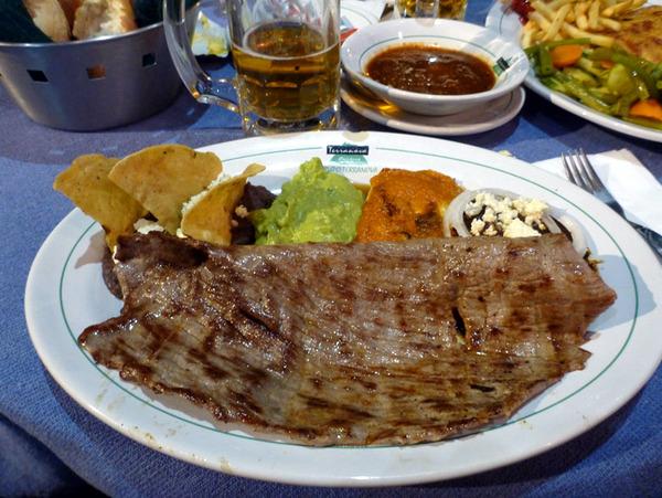 стейк Tampiqueña, Мексика