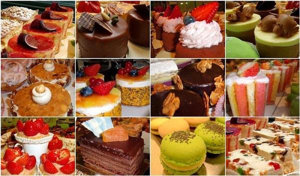 французские десерты в пражском кафе Сен – Тропе (Saint Tropez)