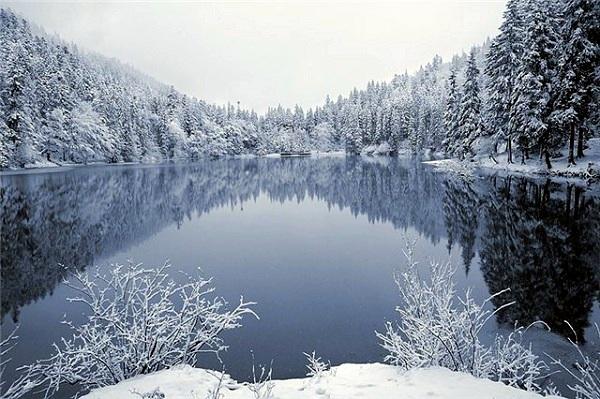 озеро в Закарпатье Синевир