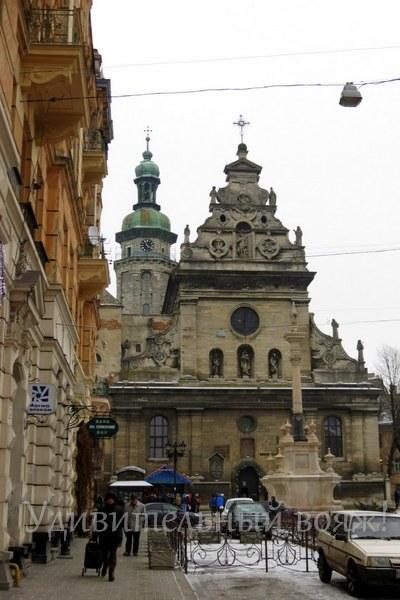 Бернардинский монастырь во Львове