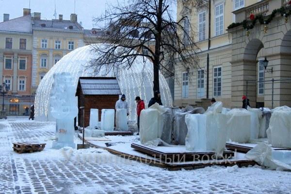 Ледяной дом во Львове