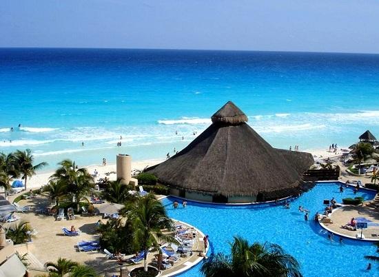 отдых на пляжах Канкуна