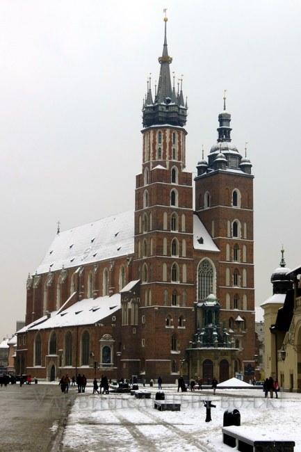 Мариацкий костел Краков