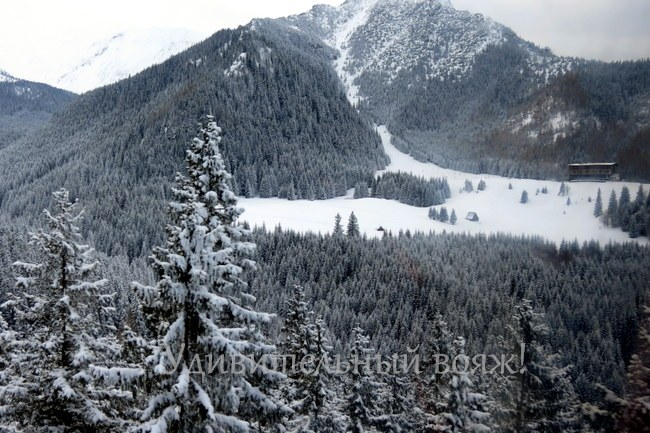 Канатная дорога на вершину-Каспровы Верх (Kasprowy Wierch)