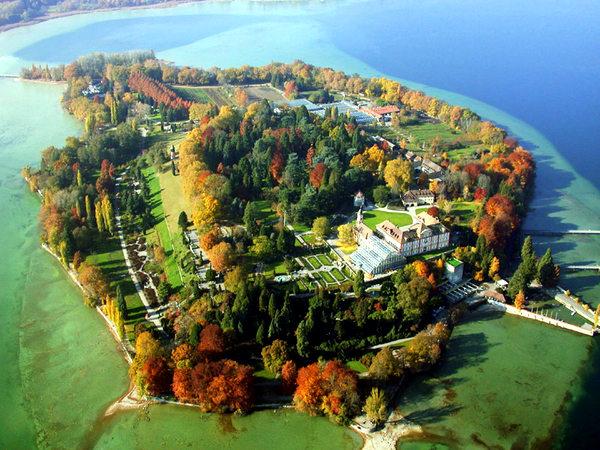 остров цветов Майнау, Германия