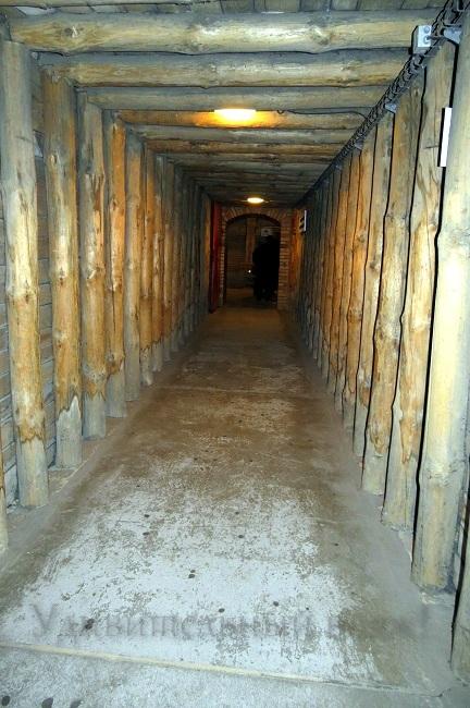 тоннели в шахте Величка