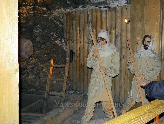 Экскурсия в соляные копи Величка