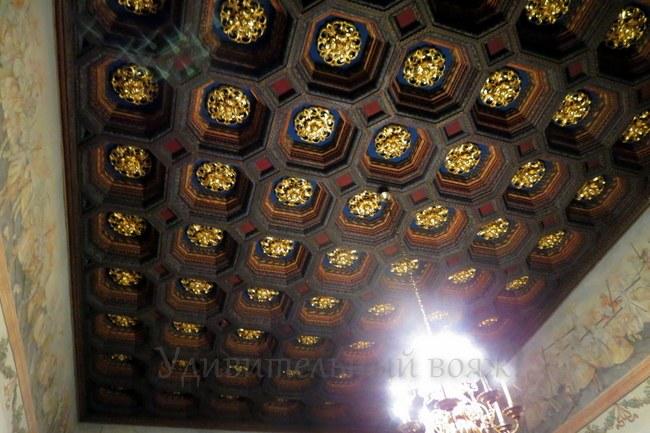 деревянные потолки в Вавельском замке