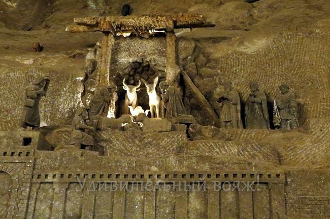 экскурсия в соляные шахты Велички