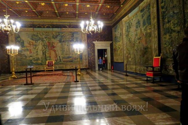 коллекция гобеленов в Вавельском замке