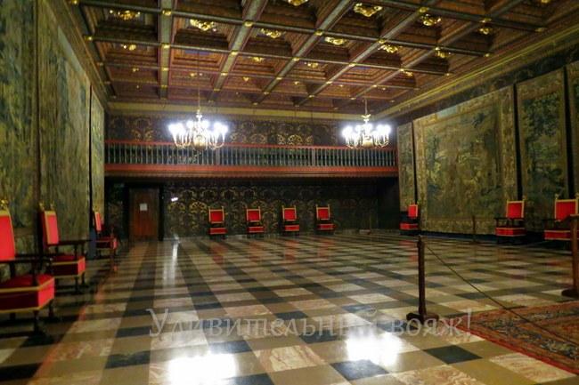 зал Сената в Вавельском замке