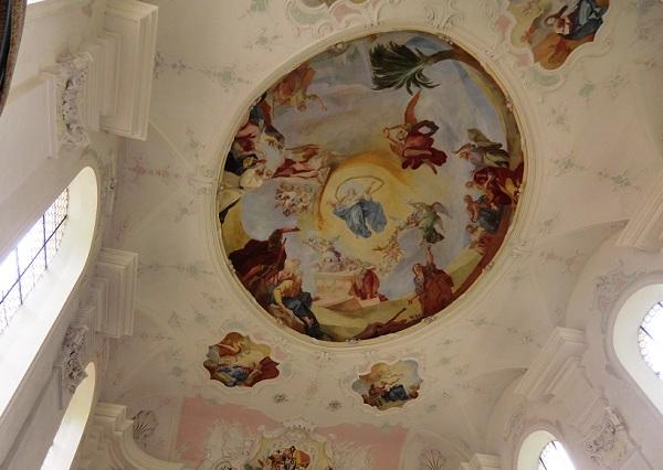 церковь Св. Марии на острове Майнау