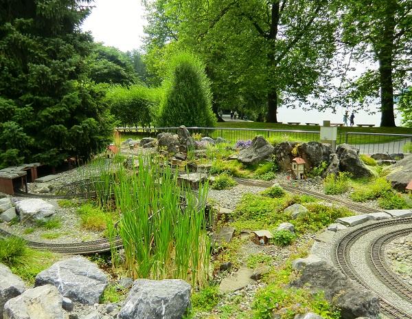 парк на острове Майнау