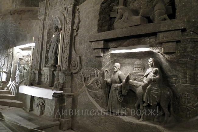 храм в соляных шахтах Велички
