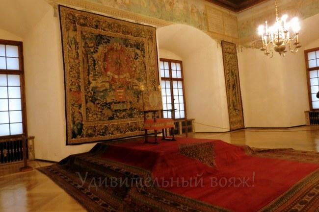 зал Депутатов в Королевском замке Вавель