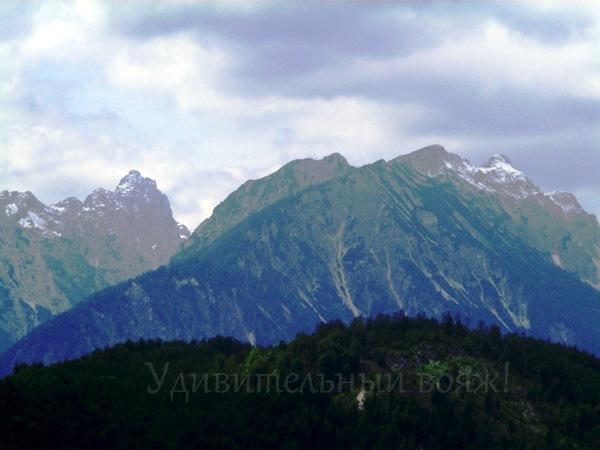 в баварских Альпах