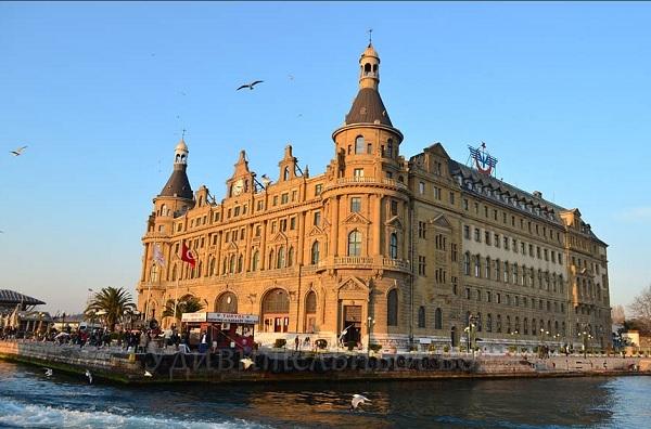 азиатский вокзал Хайдарпаша, в Стамбуле
